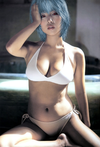 Rei Ayanami Sey Cosplay