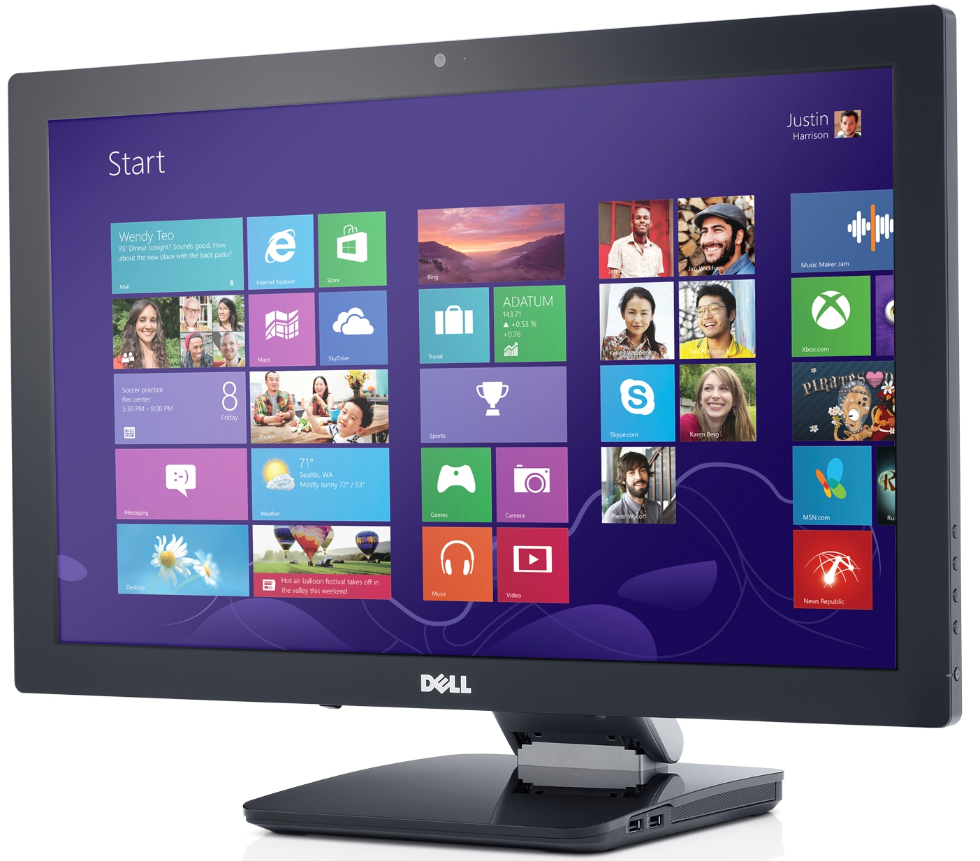 Touch Screen Monitors for Windows 8