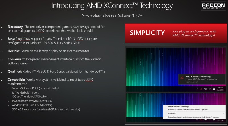 xconnect AMD